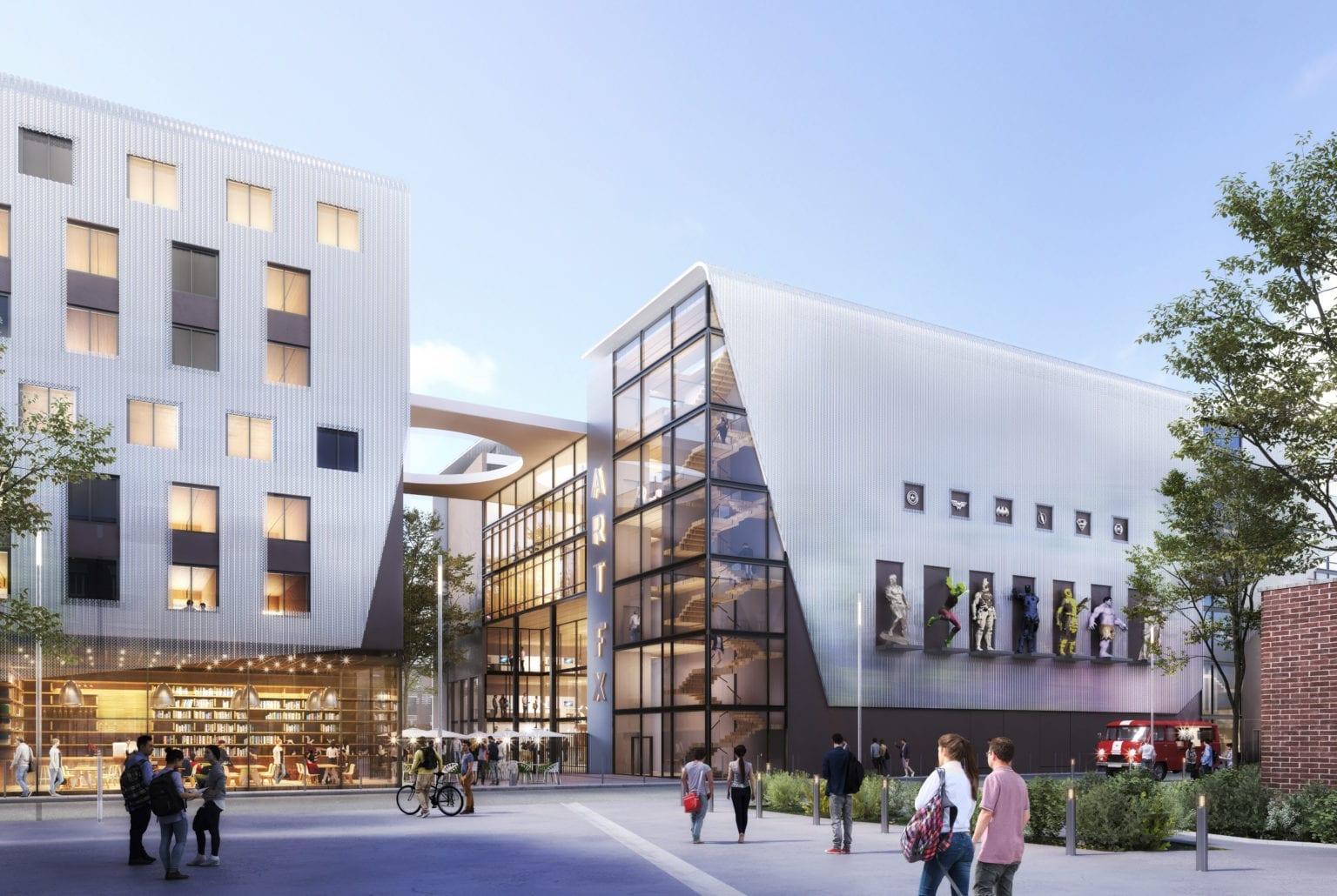 artfx new campus plaine images
