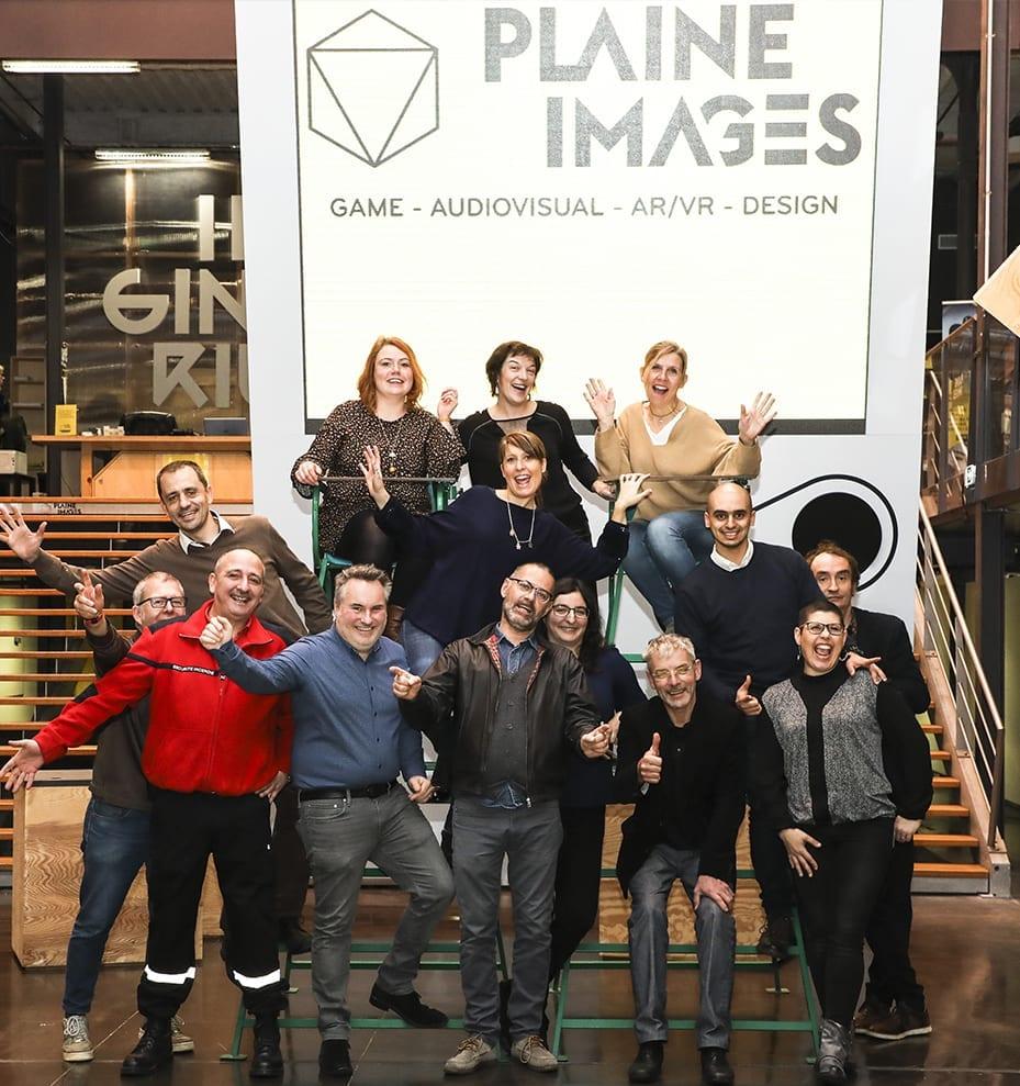 L'équipe de la Plaine Images