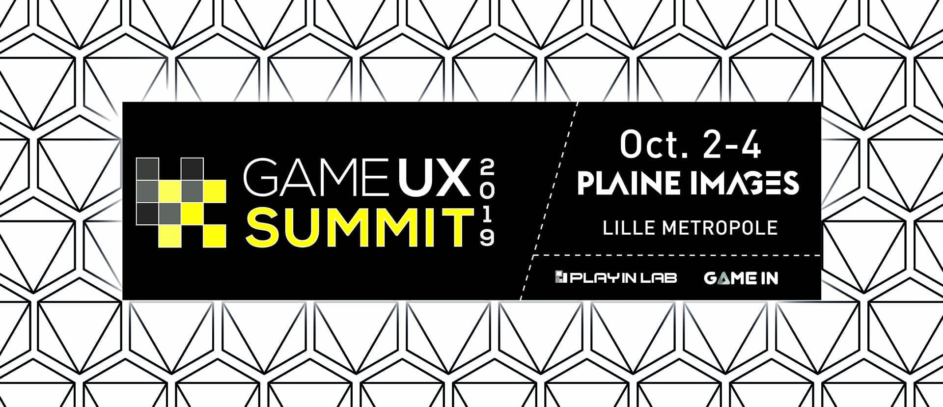 Bannière Game UX Summit 19