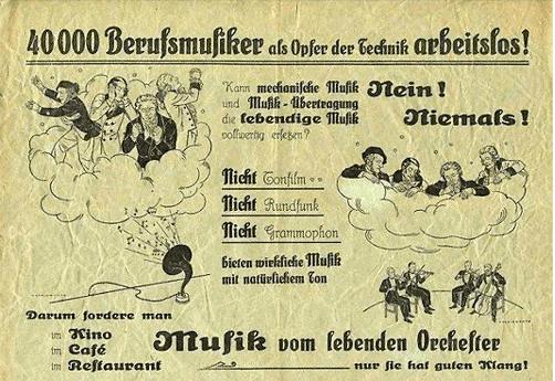 Affiche allemande de 1913