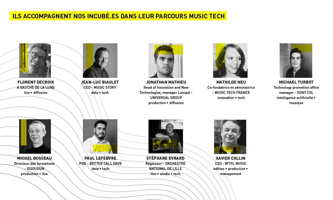 mentors et experts music tech plaine images incubateur lille